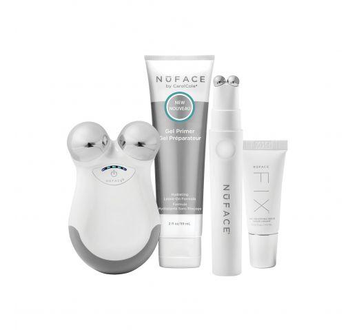 Аппарат для повышения тонуса кожи лица Набор NuFACE® MINI® в комплекте с NuFACE® FIX® 1